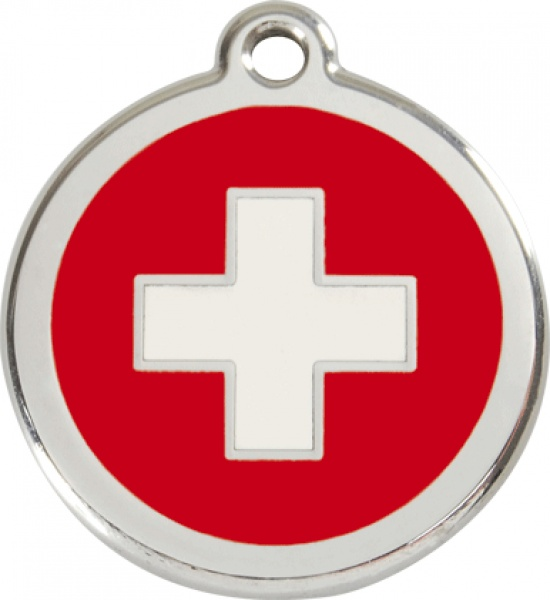 Middle stamp - swiss cross