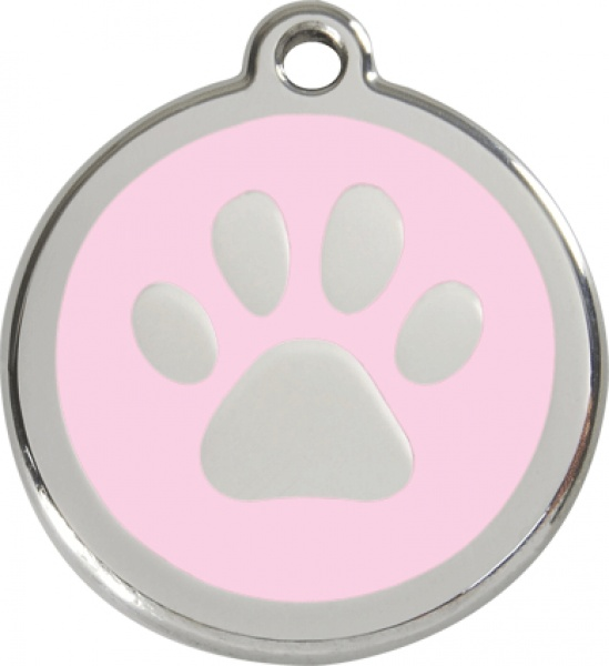 Small stamp - paw pink