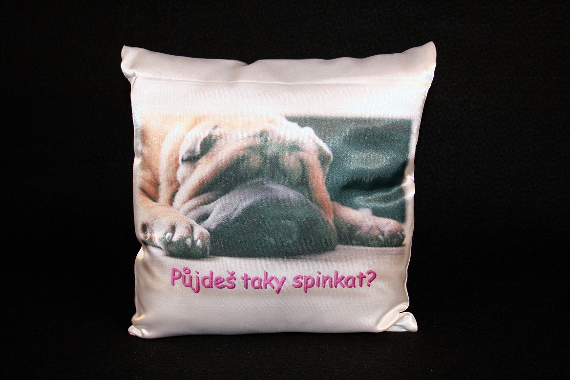 Pillow with photo A3